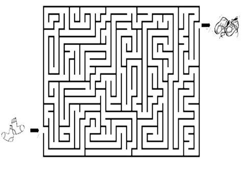 labyrinthe  ausmalbilder und basteln mit kindern