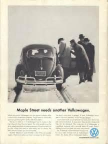 Volkswagen Ads 1960s