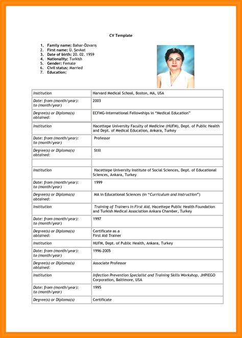 11 how to write cv for application pdf barber resume
