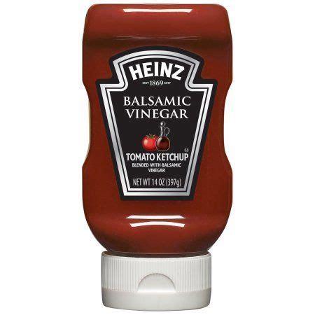 Heinz Balsamic Vinegar Tomato Ketchup 14 oz Squeezable ...