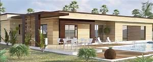 davausnet maison bois moderne toit plat avec des With plan maison avec patio 11 maison toit plat et toiture terrasse bac acier ou siplast