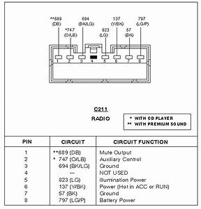 06 Ford Explorer Radio Wiring Diagram