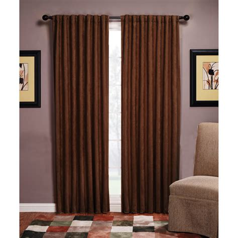 austin microsuede blackout curtain panel walmart com