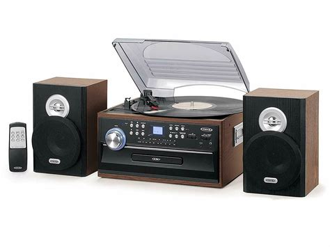 Stereo System Kit Home Theater Shelf Speakers 3-Speed