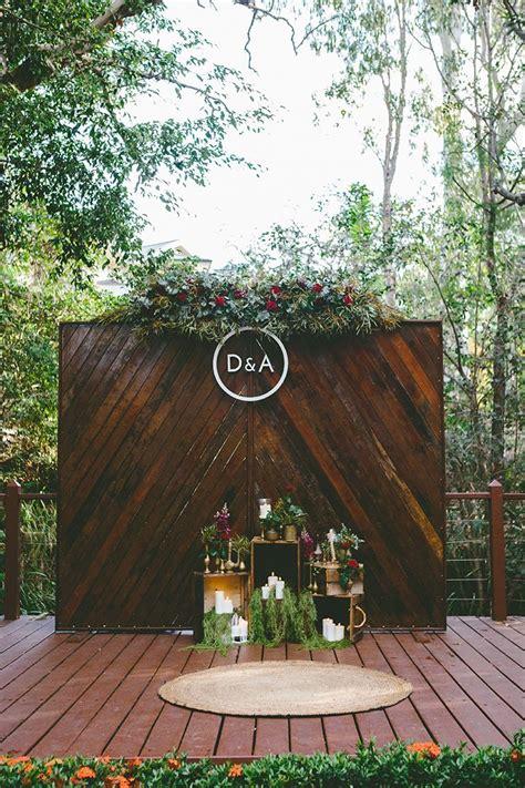 Alicia And Daves Candlelit Garden Banquet Wedding Wedding