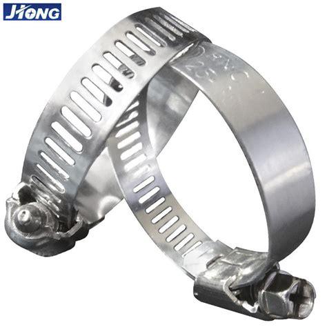 american german type stainless steel hose clamps pipe metal tie higher torque
