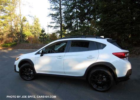 subaru crosstrek options  upgrades photo page