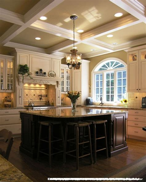 Kitchens With 12 Foot Ceilings For Traditional Kitchen And