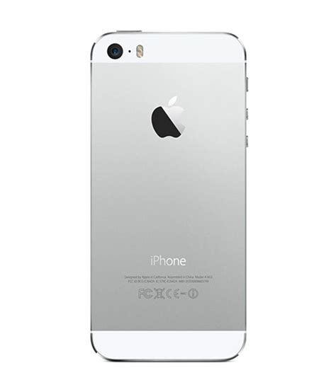 iphone 5s back m kit back cover for apple iphone 5s silver buy m