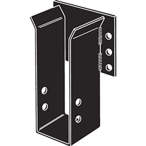 Black Decorative Joist Hangers by Legpc Megpc Beam Hangers