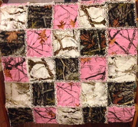 camo quilt pattern pink camo rag quilt my quilts rag quilt