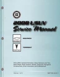 car service manuals pdf 2008 chevrolet equinox head up display 2008 chevrolet equinox equinox rs pontiac torrent torrent gt factory service manual 3