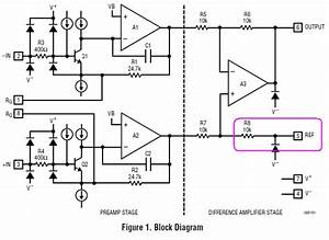 instrumentation amplifier ad620 in amp single 5v supply With emg block diagram