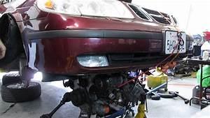 Saab Engine Removal 2003 9-5