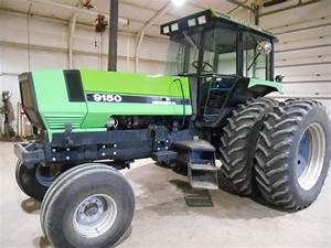 1992 Deutz Allis 9150 With 2007 Ezee On Model 2130 Loader