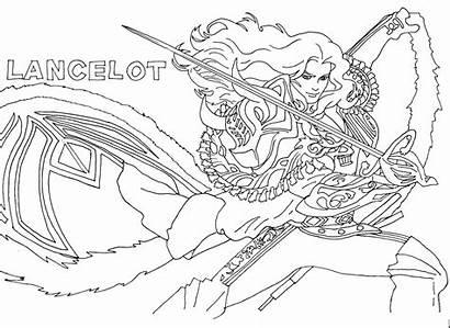 Mobile Coloring Legends Pages Lancelot Ranau Pm