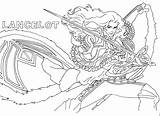 Mobile Coloring Legends Pages Lancelot Ranau Pm Posted sketch template