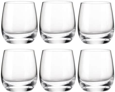 guzzini bicchieri guzzini set 6 bicchieri in vetro bicchieri