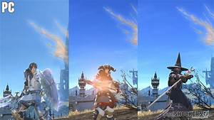 Final Fantasy XIV PS4 Vs PC Maximum Settings Direct Feed