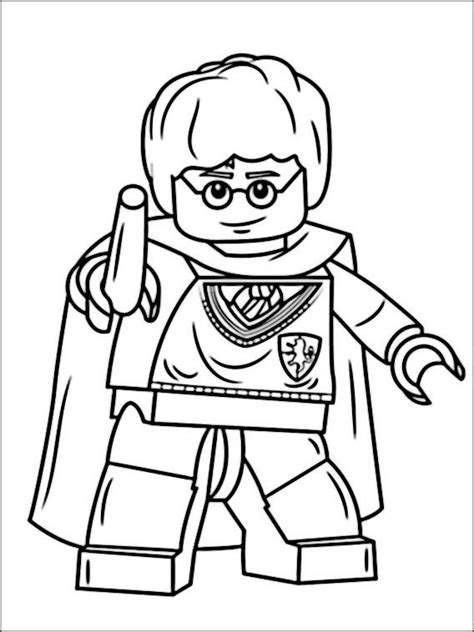 lego harry potter coloring pages  lego coloring pages