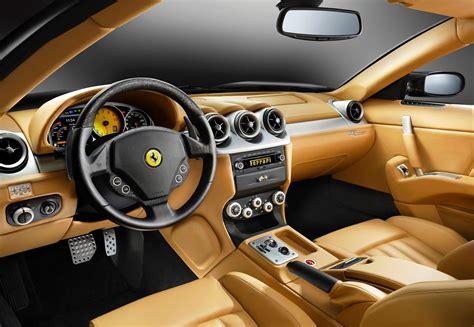 luxury cars inside ferrari 612 scaglietti