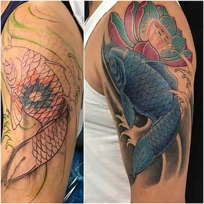 Tattoo Tattoos Fish Bad Koi Artists