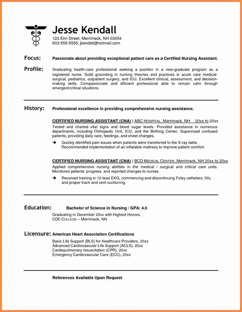 Healthcare Resume Template by 12 13 Resume Sles For Healthcare Professionals