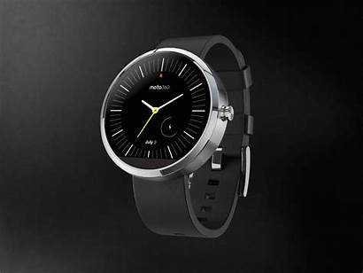 360 Moto Motorola Face Android Smartwatch Concept