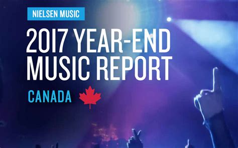 Nielsen Music 2017 Year-end Music Report Canada