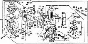 Honda Motorcycle 1986 Oem Parts Diagram For Carburetor