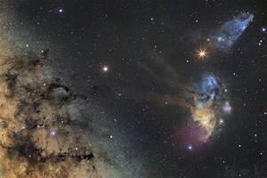 APOD: 2016 May 10 - Saturn and Mars visit Milky Way Star ...