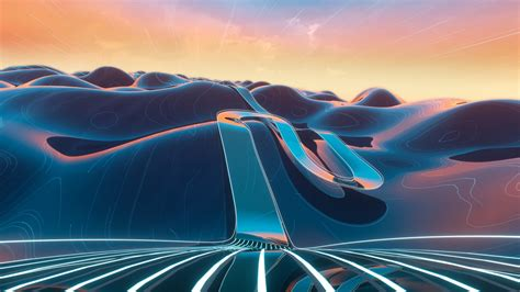 3d Hd Wallpapers by 3d Cgi Mountain Road Wallpapers Hd Wallpapers Id 27789