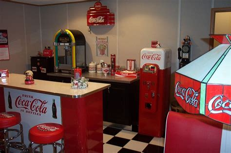 coca cola decorations coca cola decor vintage posters coke machines and diy ideas