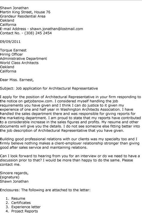 architecture internship application cover letter