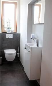 Kleine Waschbecken Für Gäste Wc : g ste wc ideen 18 top beispiele die inspirieren ~ Watch28wear.com Haus und Dekorationen