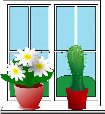 Window Clipart Windows Outside Clip Closed Finestra