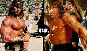 Blogs - Tournament  U2013 Arnold  Sly  And The Rock Muscle Up In This Battle Of The Biceps