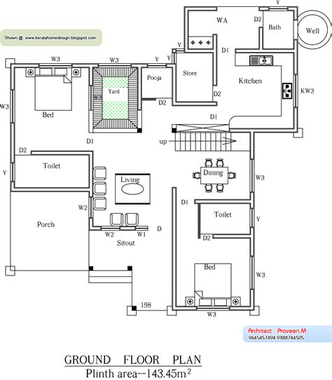 home plan com august 2010 kerala home design and floor plans