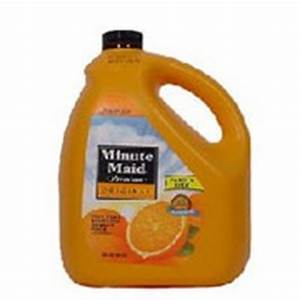 Minute Maid Orange Juice, Original, Low Pulp, Family Size ...