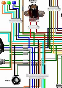 Honda Clr125 Cityfly Uk Spec Colour Wiring Loom Diagram