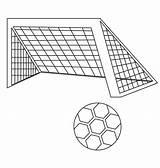 Football Coloring Stadium Printable Soccer sketch template