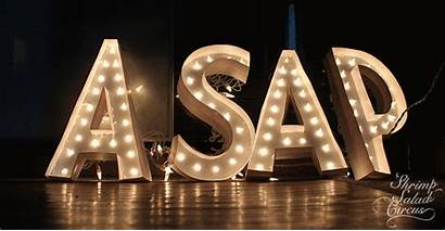 Marquee Letters Lighted Letter Circus Tutorial Diy