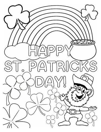 Coloring Pages St Patrick 2021 Patricks Saint