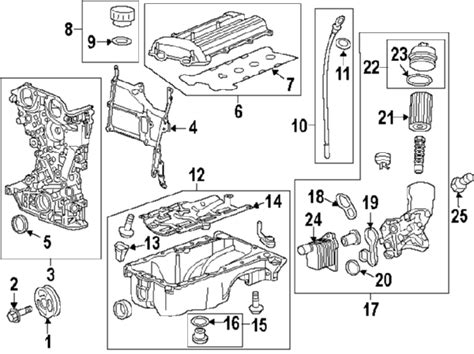 Partscom®  Chevrolet Cruze Engine Parts Oem Parts