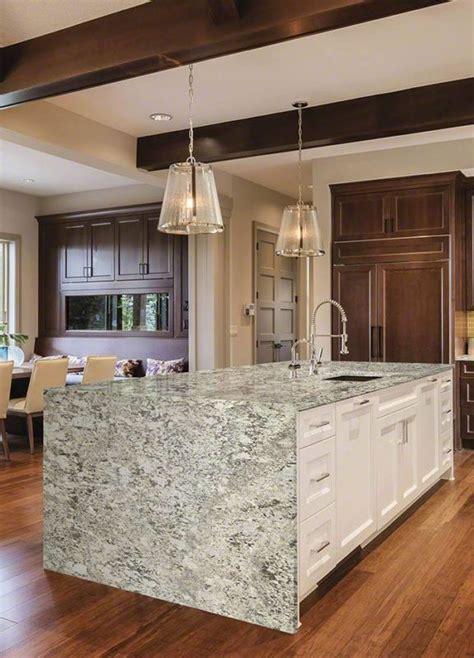 Bianco Antico Granite Kitchen Island   Carmel Stone Imports