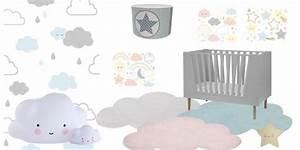 chambre enfant etoile nuage deco etoile tapis et With affiche chambre bébé avec tapis de fleurs d acupression