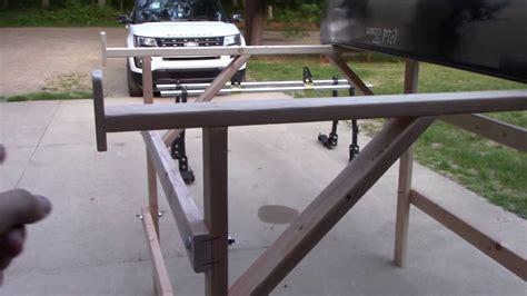 homemade   canoegear truck rack youtube