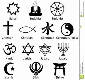 The gallery for --> Major Religious Symbols Of The World