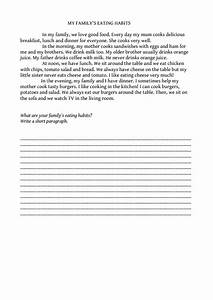 essay on healthy food for class 3