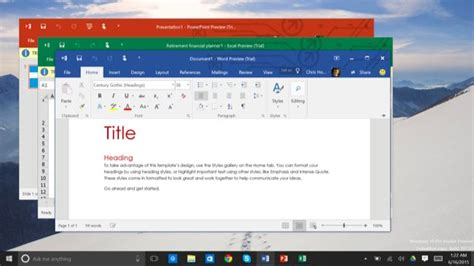 Windows Microsoft Word by Why Windows 10 Offers Two Different Versions Of Microsoft